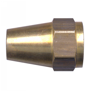 Picture of 3/8 Tube OD Milled Brass Long Nut