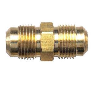 Picture of 1/4 Tube OD Brass Union Coupling