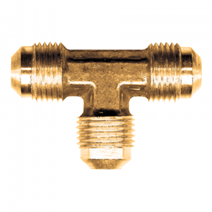 Picture of 5/16 Tube OD Brass Union Tee
