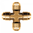 Picture of 3/8 Tube OD Brass Cross