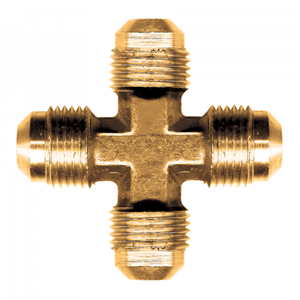 Picture of 1/2 Tube OD Brass Cross