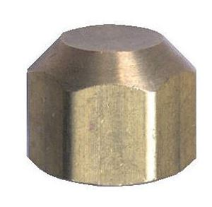 Picture of 1/4 Tube OD Brass Sealing Cap Nut