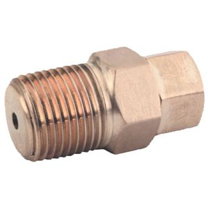 """Picture of GP Easy Start Valve 5,000 PSI 3/8"""" NPT-M Inlet 1/8"""" NPT-F Outlet"""