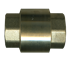 """Picture of 1-1/4"""" Female Pipe Brass Coupling Style Check Valve 250 PSI"""