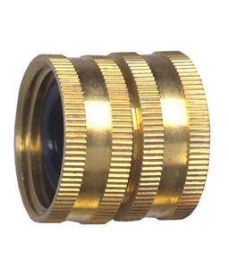 Picture of 3/4 Swivel FGH x 3/4 Swivel FGH Brass Swivel Coupling