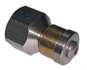 "Picture of GP Rotating Sewer Jet Nozzle 3/8"" NPT-F, # 5.5 5,000 PSI"