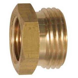 Picture of 1/4 Female NPT x 3/4 MGH Brass Coupling