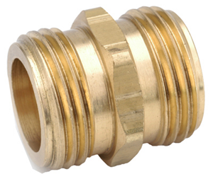 Picture of 3/4 MGH x 3/4 MGH Brass Coupling