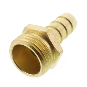 Picture of 1/2 ID x 3/4 MGH Brass Hose Barb Fitting