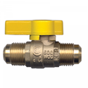 Picture of GAS-FLO 3/8 Tube Forged Brass Ball Valve CSA Certified To 5 PSI