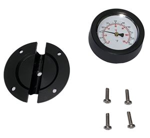 "Picture of Suttner 240º F Temperature Gauge, Mounts to 1/2"" Hydro Ex Lances"