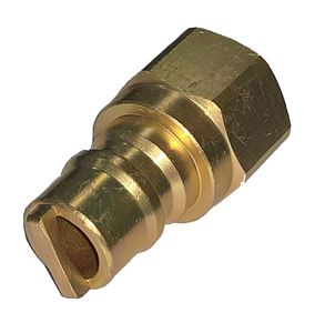 Picture of Gas-Flo 3/8 Nipple x 3/8 FPT Pipe CSA LPG/Nat. Gas Quick Disconnect