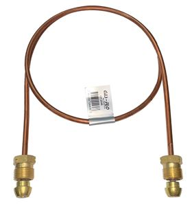 "Picture of Gas-FLO 1/4 OD x 48"" Short POL x Short POL Copper Propane Gas Pigtail"