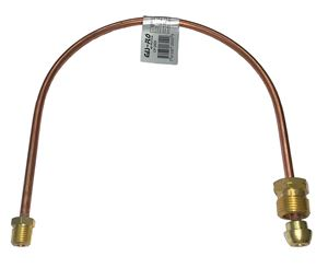 "Picture of Gas-FLO 1/4 OD x 20"" Short POL x 1/4 MPT Copper Propane Gas Pigtail"