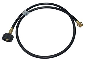 "Picture of GAS-FLO 1/4 ID 60"" Type 1 Propane Hose Assy Thermoplastic MC x QCC"
