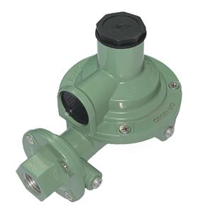 Picture of Gas-Flo Compact Low Pressure LP Gas Second Stage Regulator 1/2 F NPT x 1/2 F NPT