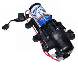 Picture of Everflo Diaphragm Pump 12 V, 40 PSI, 1.1 GPM QA Ports