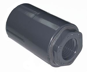 "Picture of 1/2"" x 1/4"" Schedule 80 PVC Reducer Coupling (FPT)"