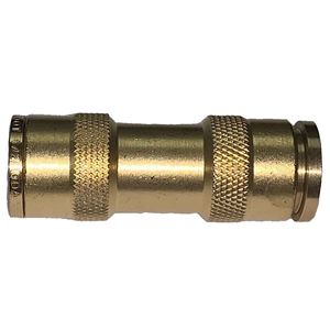 Picture of 3/4 Tube x 3/4 Tube DOT Push-To-Connect Union Coupling Air Brake Fitting