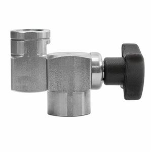 Picture of Suttner Locking Handle ST-330 SS Adjustable Nozzle Holder 5,070 PSI 1/4 F x 1/4 F