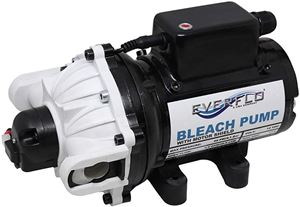 Picture of Everflo Soft Wash (Bleach) Pump 12 V, 60 PSI, 5.5 GPM, QA Ports