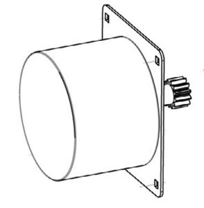 Picture of Electric Hose Reel Motor Kit, Fits DHRA Models (Hose Reel Not Included)