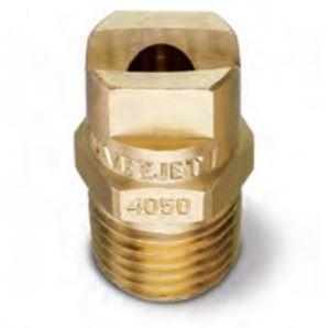 "Picture of 65º x #15 Brass H-U 1/4"" (M) VeeJet® Spray Nozzle"